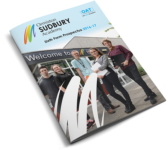 Sixth form prospectus cover