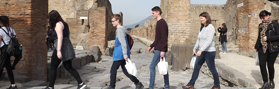 Pompeii banner