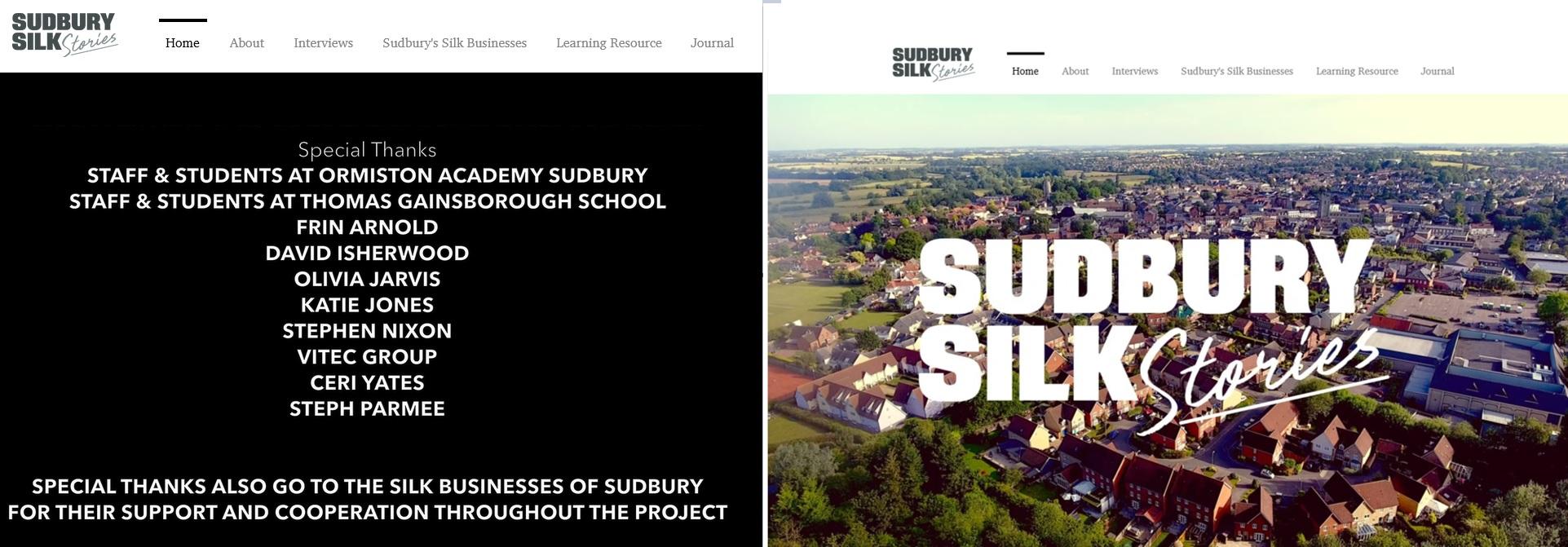 Sudbury Silk Stories
